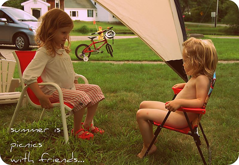 Picnic with charlotte