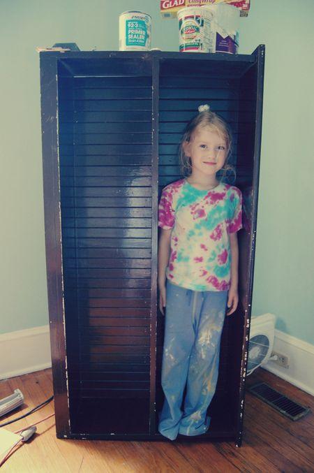 Clara's bookcase